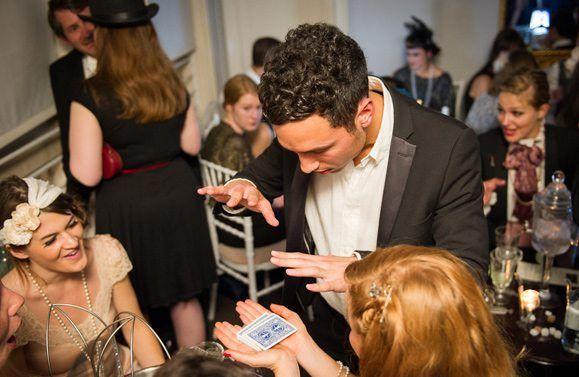 table magician london