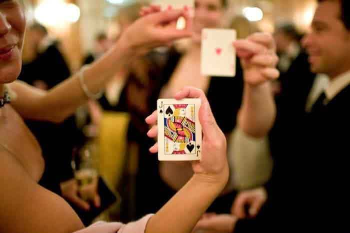 table magician london